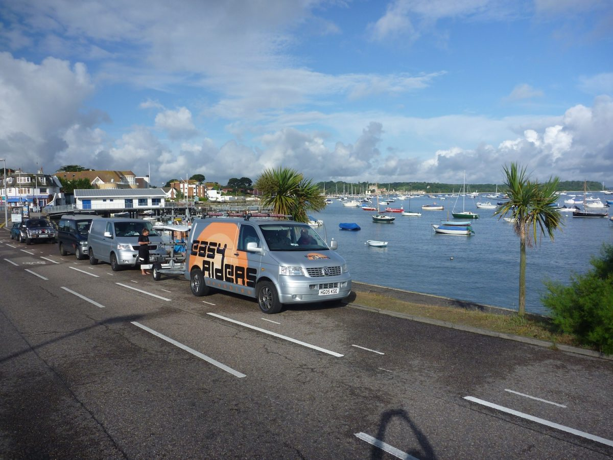 Easy Riders Transport Poole Harbour