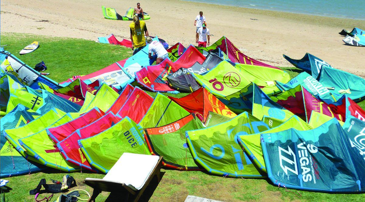 Huge Kitesurf Kit Quiver Demo