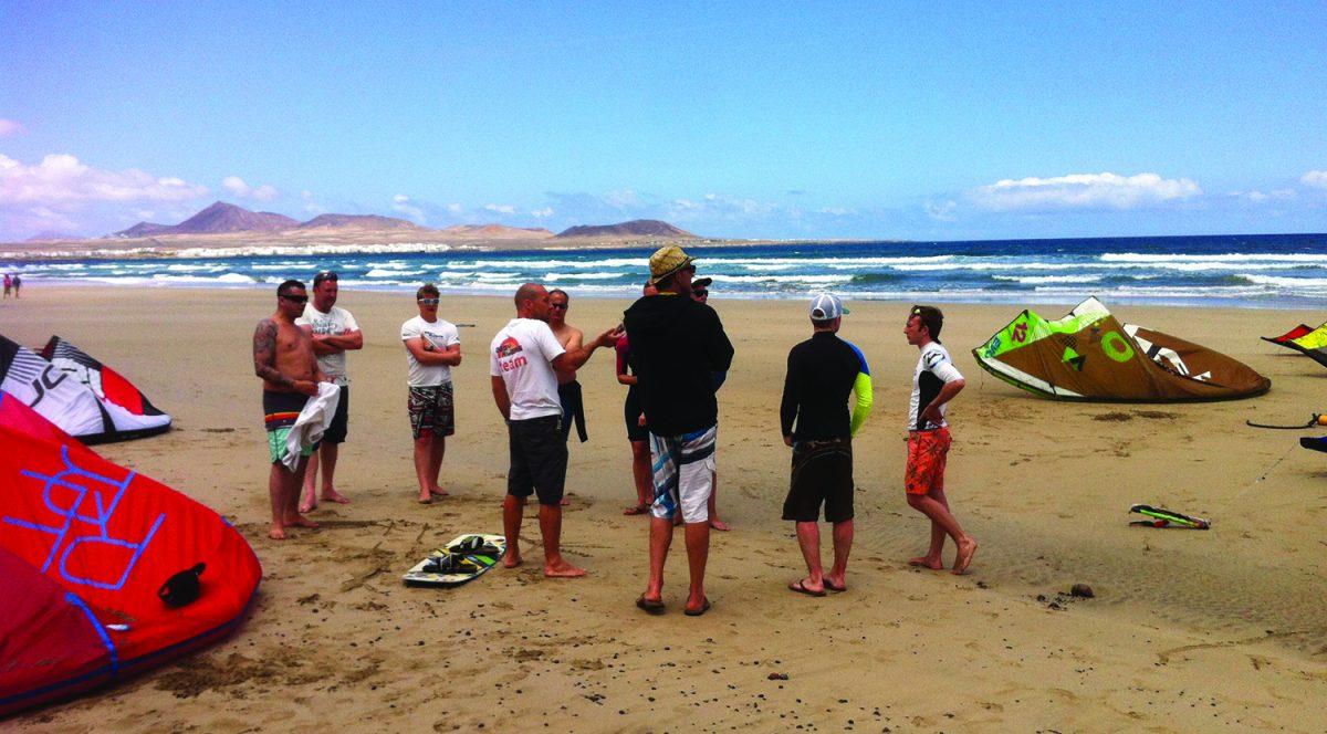 Kite Holiday Famara Canary Islands