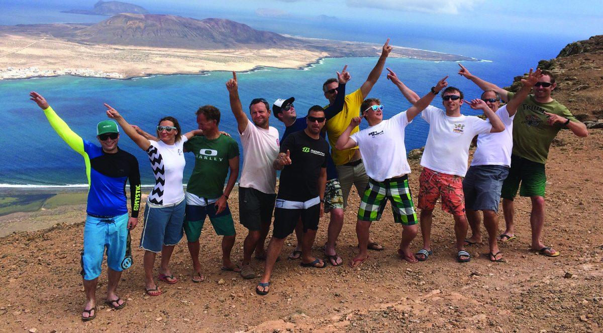 Kiteboarding Holiday Island Trip