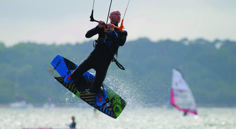 Kitesurf Boosting Poole