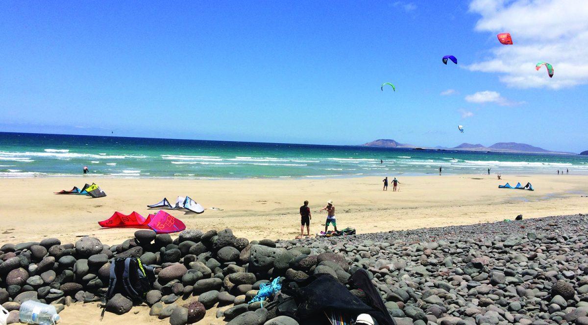 Kitesurf Famara Lanzarote Waves