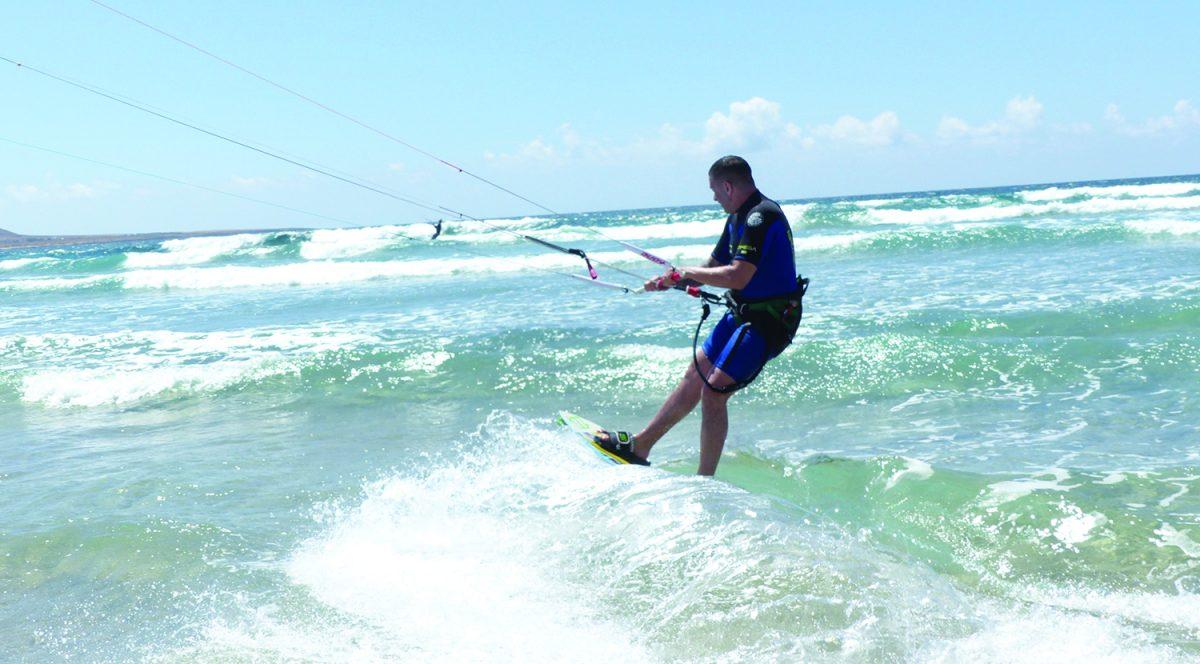 Kitesurf Learning Upwind