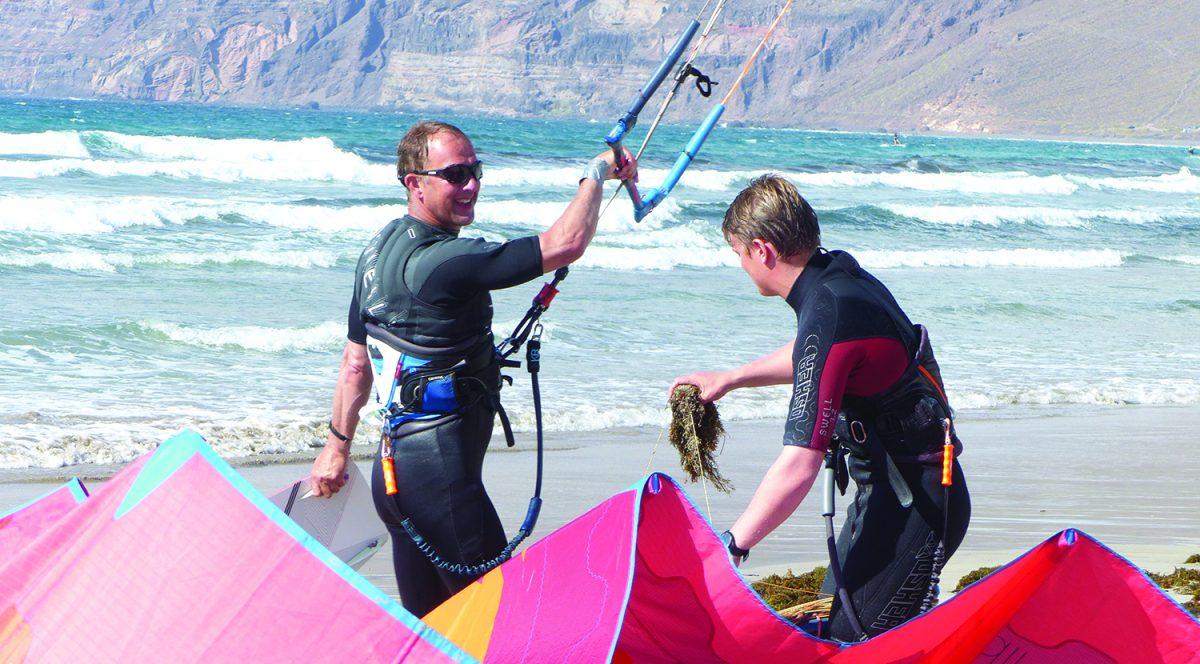 Kitesurf Seaweed on Lines