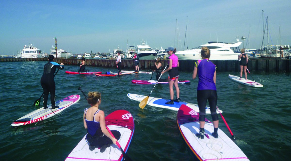 Poole Harbour SUP Club Adventure