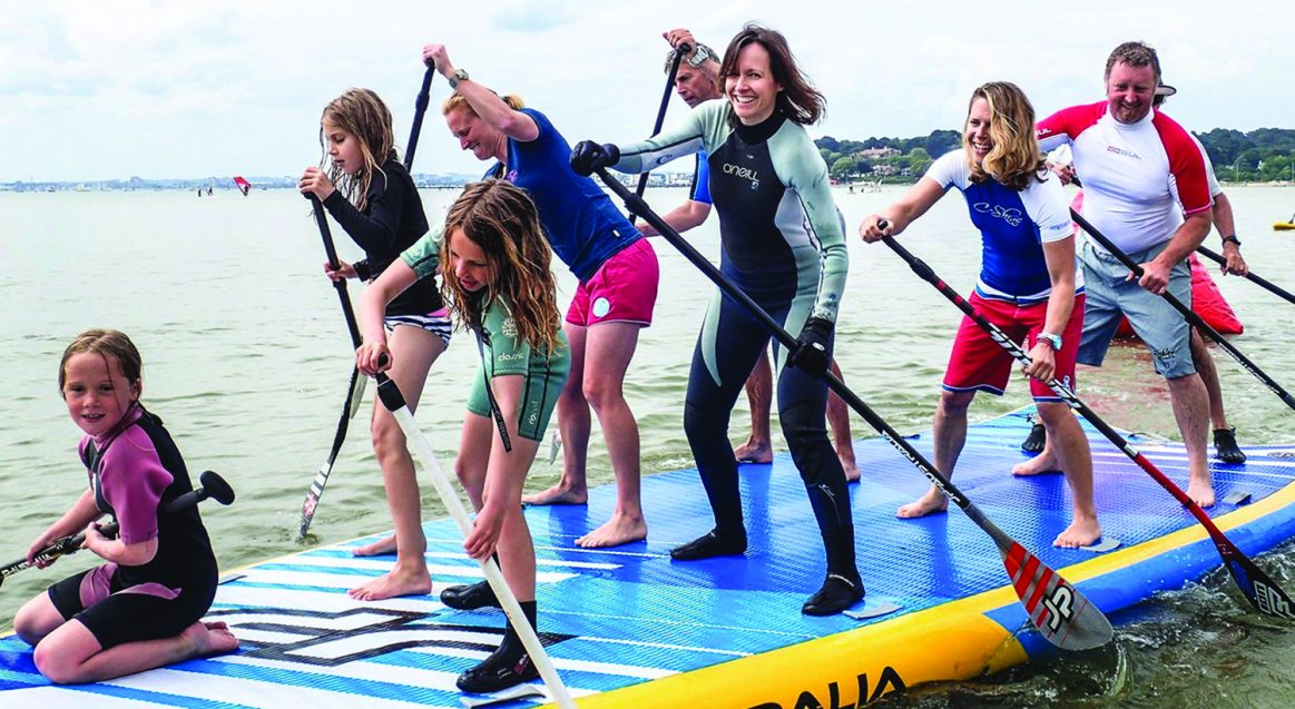 SUP Family Fun Poole Harbour