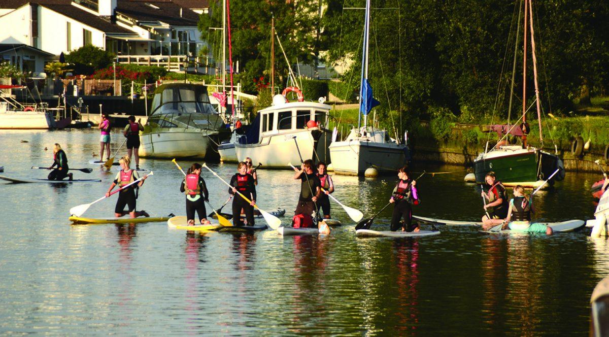 SUP River Paddle Tour