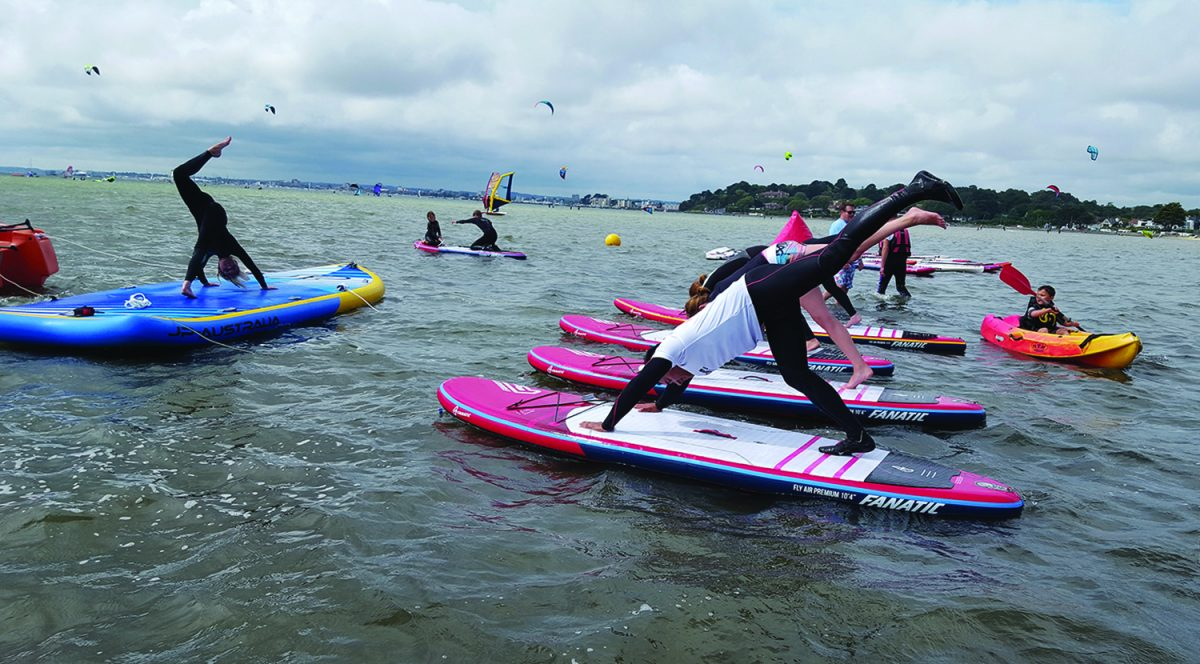 SUP Yoga Poole Harbour