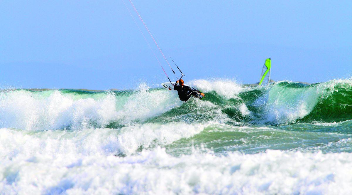 Surfing Waves Kitesurf Ireland Holiday