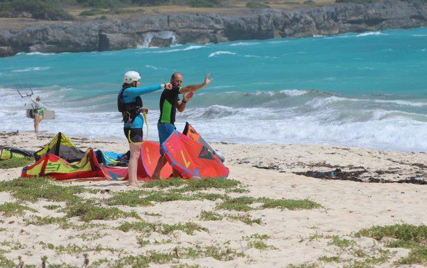Long Beach Barbados Kitesurf Lesson