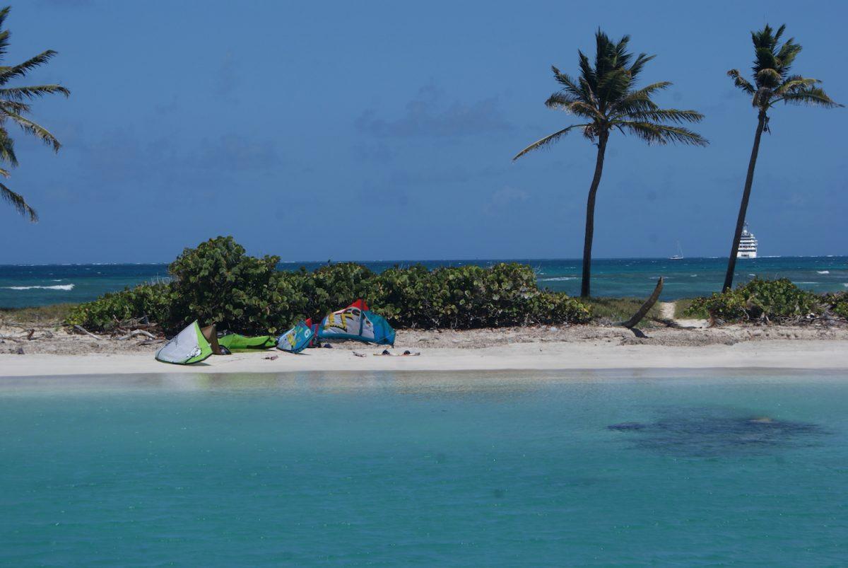Barbados Kitesurfing Secluded Beach