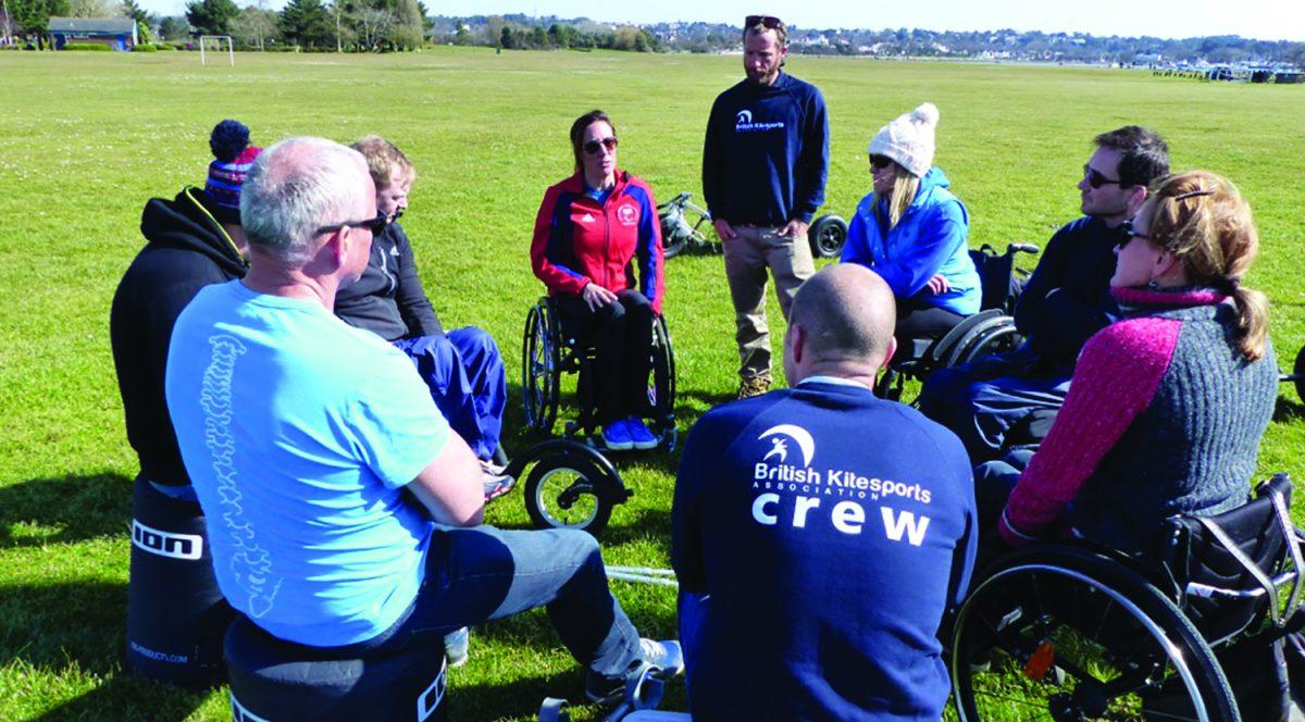 British Kitesports Adaptive Kitesurf Training