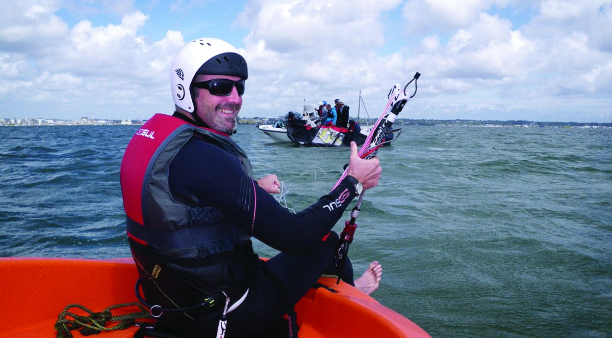 Kitesurf Boat Launch Poole Harbour