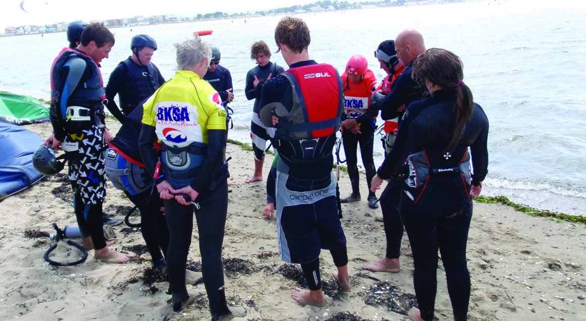 Kitesurf Lesson Beach Theory Poole Harbour