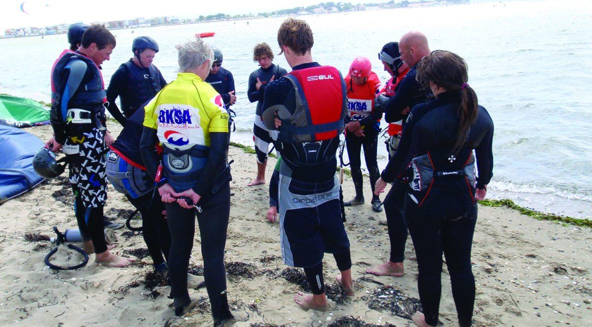 Kitesurf Lesson Beach Theory Poole Harbour