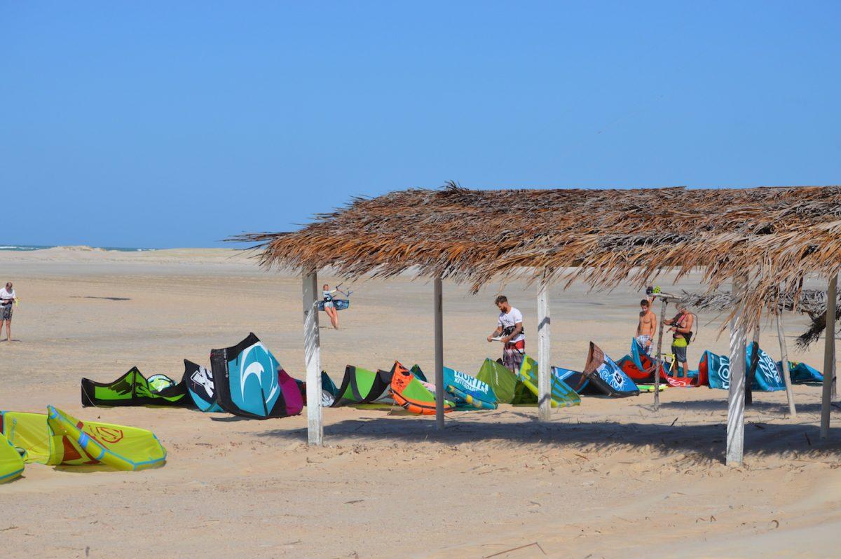 Kitesurfing Brazil Carpark