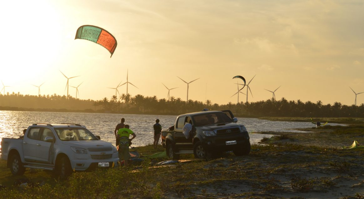 Sunset Lagoon Kite Session