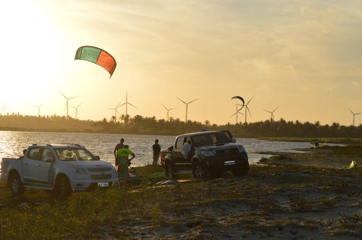 Sunset Lagoon Kite Session