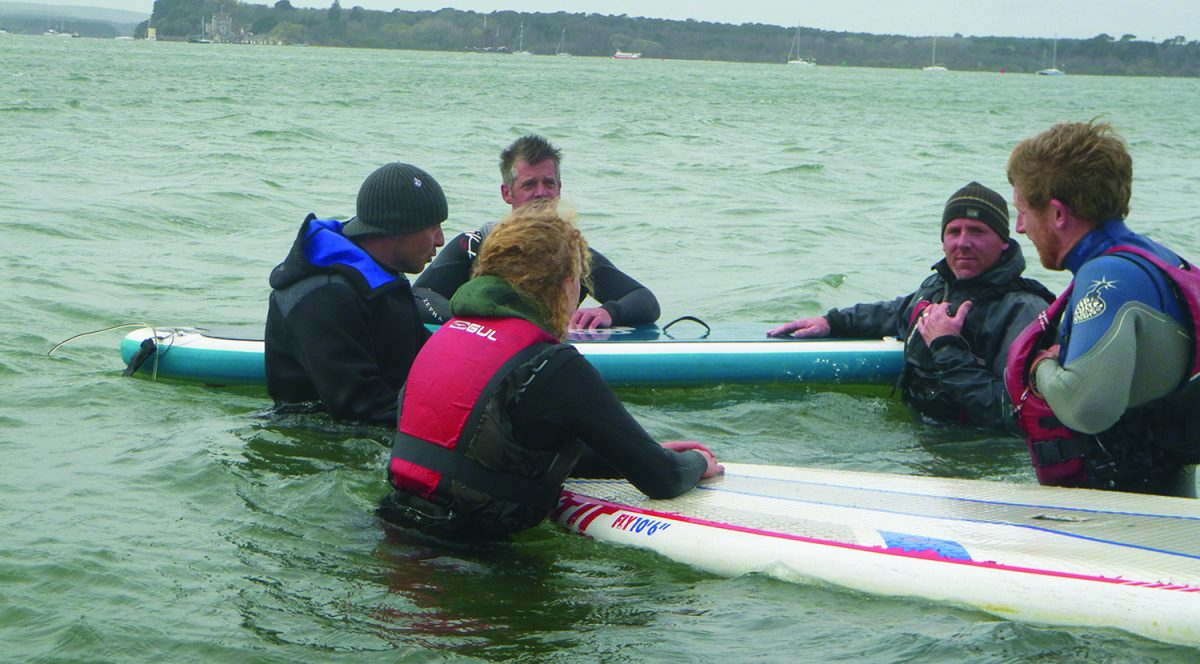 SUP Poole Harbour Instructor Course