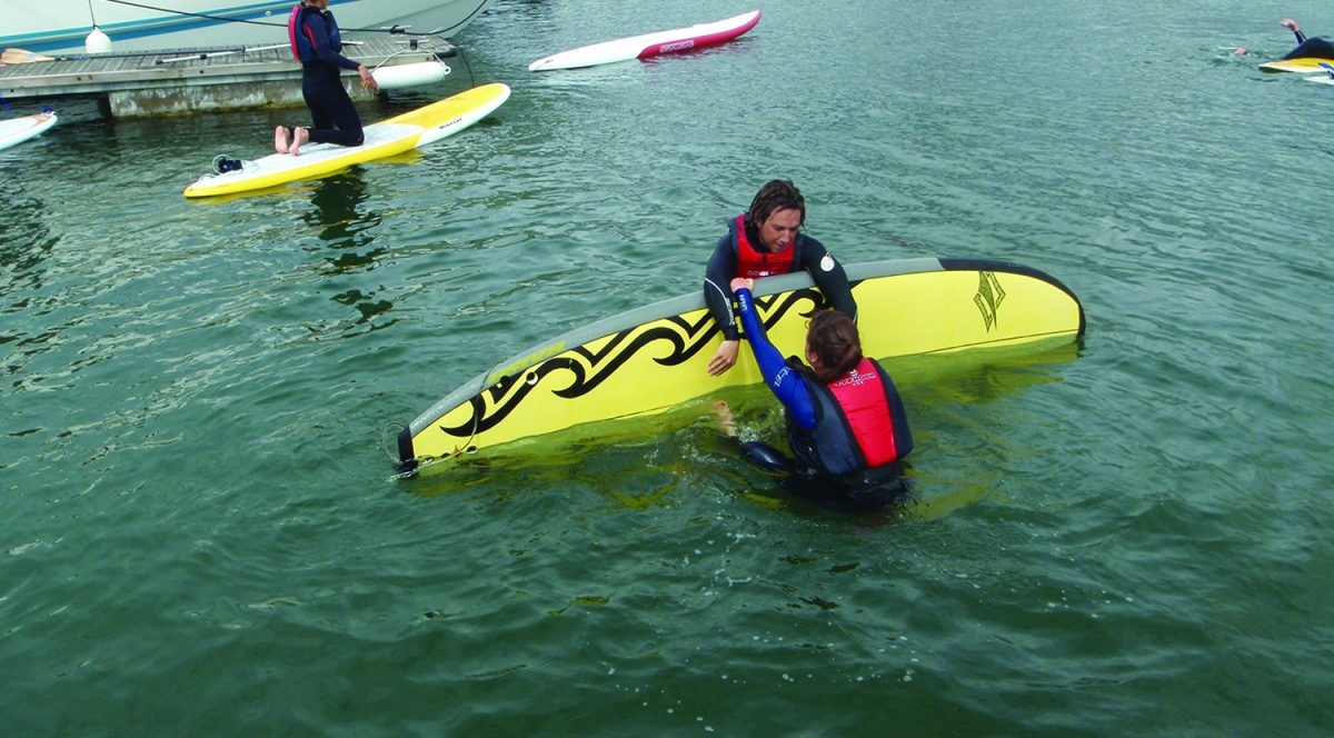 SUP Rescue Poole Harbour