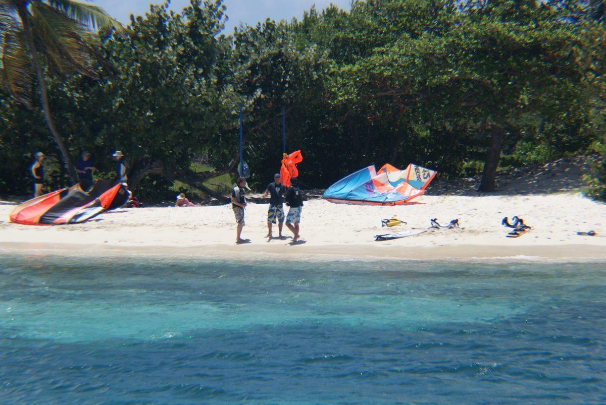 Kitesurfing Barbados Beach